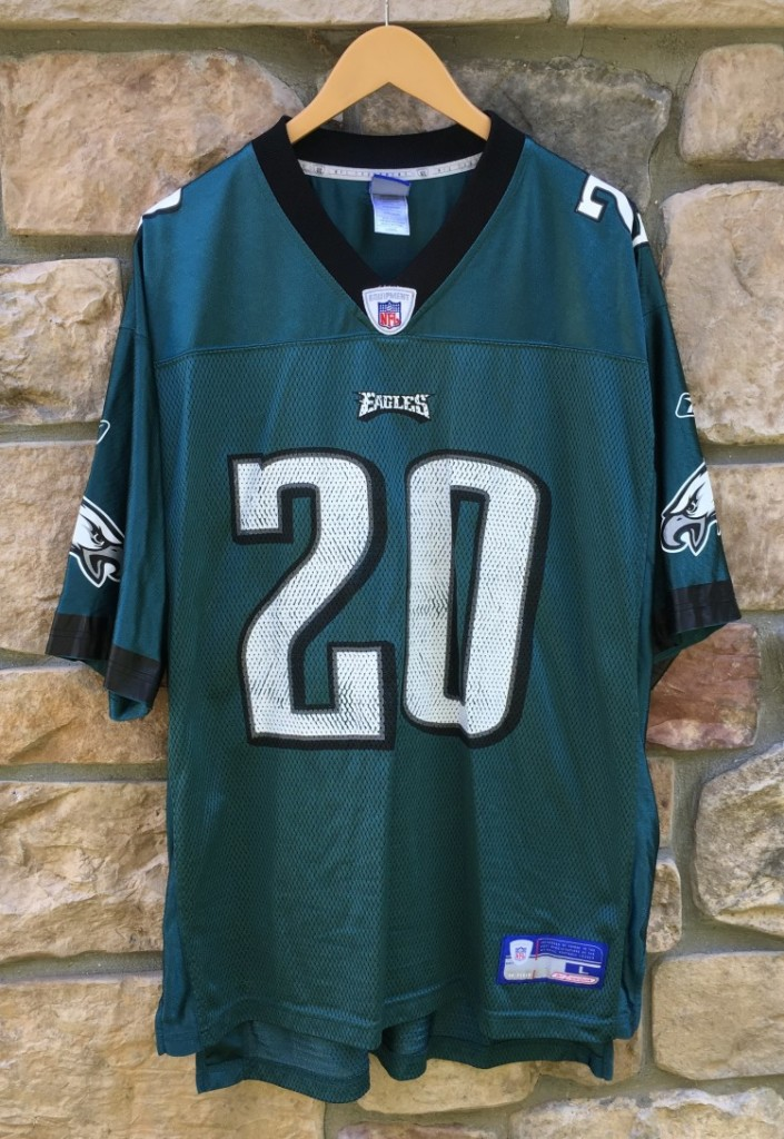 2004 Brian Dawkins Philadelphia Eagles Reebok NFL Jersey Size Large ... 70d98542acc7