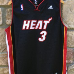 2007 Dwayne Wade Miami Heat Adidas NBA jerseys youth size XL