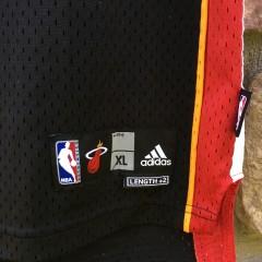 2007 Dwayne Wade Miami Heat Adidas NBA jerseys youth size XL