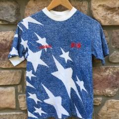 1994 Team USA Soccer Adidas Faux Denim T Shirt Youth Size Large