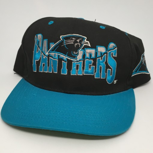 90's Carolina Panthers vintage NFL snapback hat