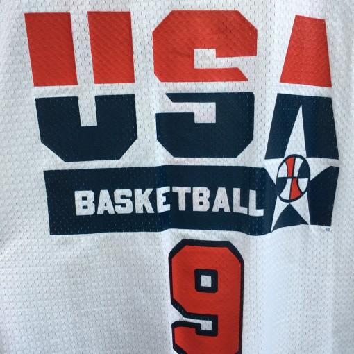 original vintage 1992 Michael Jordan Team USA dream team champion basketball jersey size 44 large