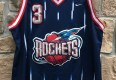 2001 Steve Francis Houston Rockets nike swingman NBA jersey size XL