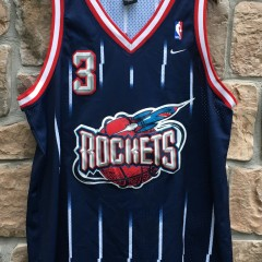 2001 Steve Francis Houston Rockets nike swingman NBA jersey size XL