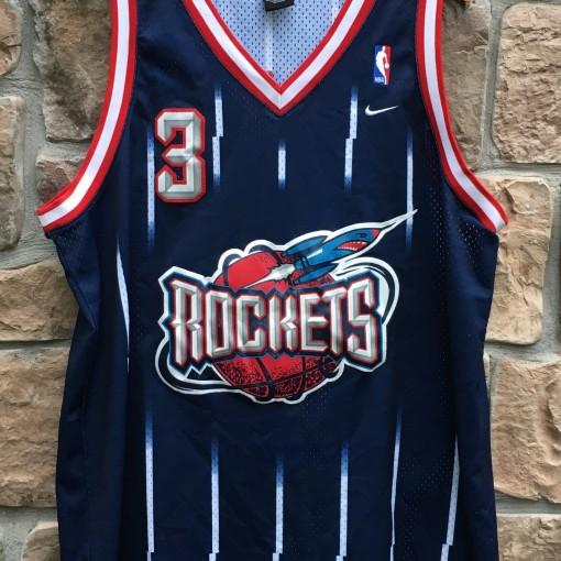 27f3ff2db 2001 Steve Francis Houston Rockets Nike Swingman NBA Jersey Size XL ...