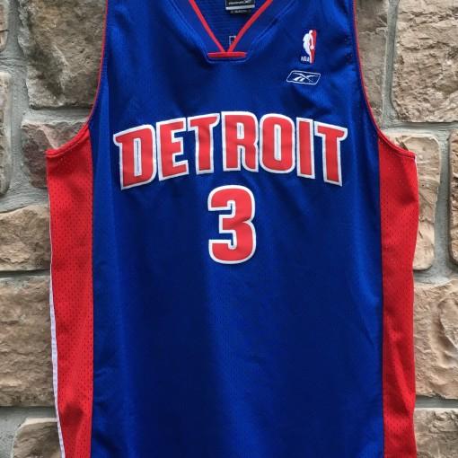2004 Ben Wallace Detroit Pistons Reebok Swingman NBA jersey size XL