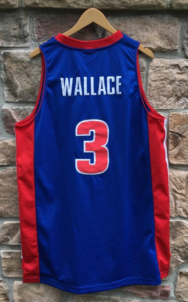 new product 542e5 ec453 2004 Ben Wallace Detroit Pistons Reebok Swingman NBA Jersey Size XL