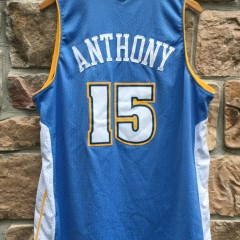 carmelo anthony denver nuggets nike swingman nba jersey size xl