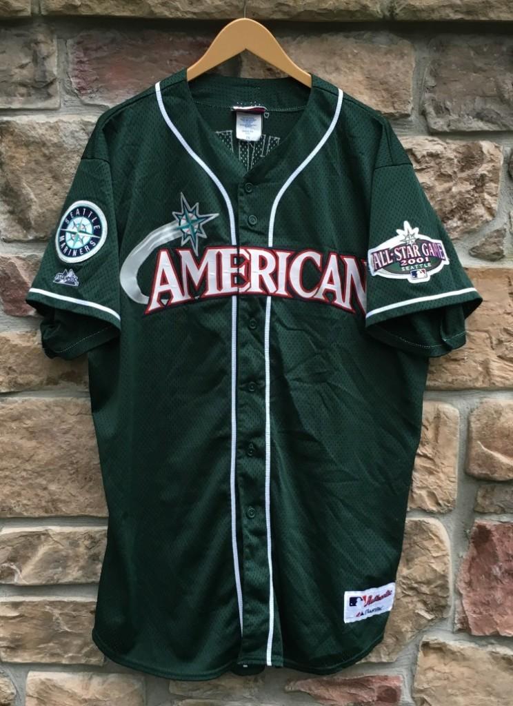 f0489aea3 2001 IchiroSeattle Mariners American League All Star MLB jersey size XXL  authentic Majestic