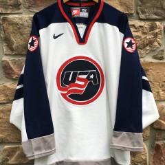 1998 Team USA Nagano Olympics Nike hockey jersey size 52