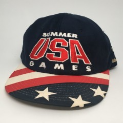 1996 Summer USA Games Starter Atlanta USA Olympic snapback hat deadstock 90's