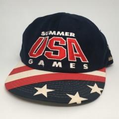 1996 Summer USA Games Starter Atlanta USA Olympic snapback hat deadstock 90's