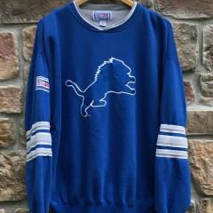 90's Detroit Lions Starter pro line crew neck sweatshirt size Large