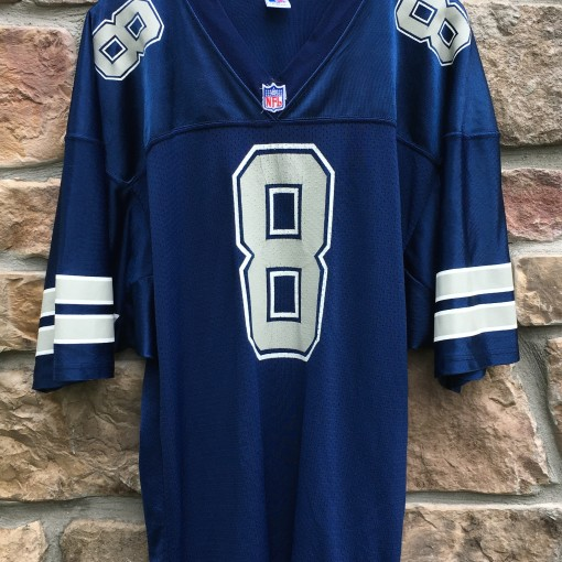 90's Troy Aikman Dallas Cowboys Russell authentic NFL football jersey size 48 XL