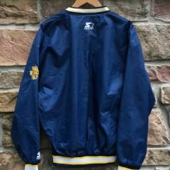 90's University of Michigan Wolverines Starter Fab 5 Windbreaker jacket size large
