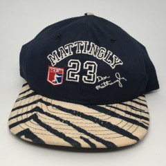 80's Don Mattingly New York Yankees Zubaz MLB snapback hat