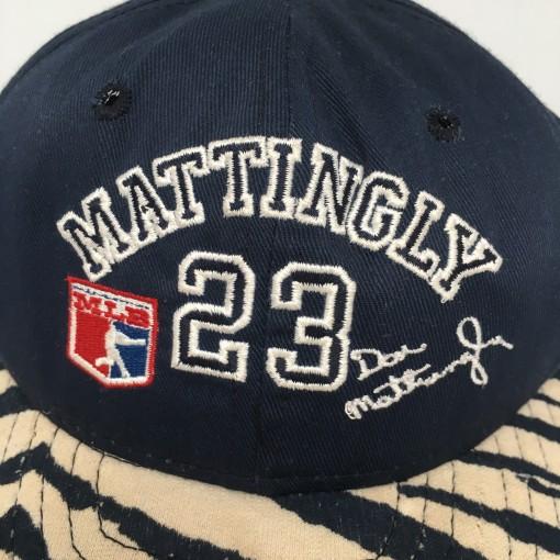 80's Don Mattingly New York Yankees Zubaz MLB snapback hat