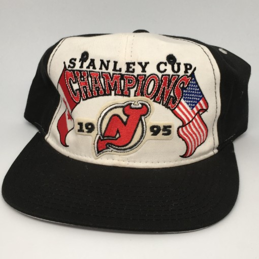 1995 New Jersey Devils Stanley Cup Champions Starter NHL Snapback hat deadstock
