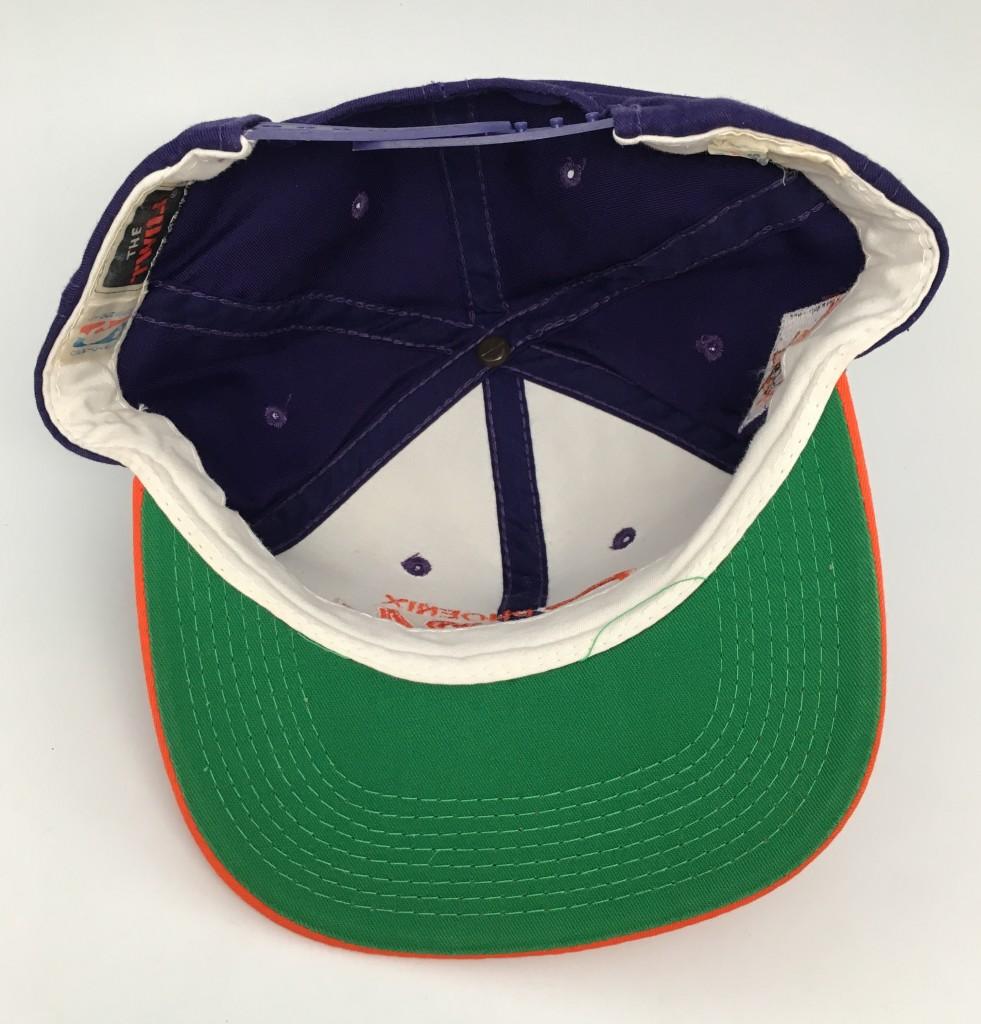 1a54094ef 90's Phoenix Suns Sports Specialties Script NBA Snapback Hat