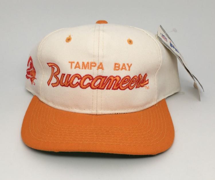 8d2502958aa65 vintage 90 s Tampa Bay Buccaneers Sports Specialties script NFL snapback hat