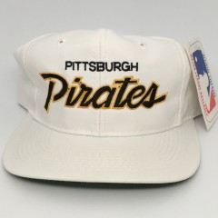 90's Pittsburgh Pirates Sports Specialties MLB Script snapback hat
