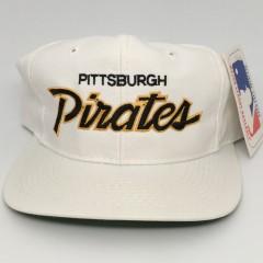 90's Pittsburgh Pirates Sports Specialties MLB Script snapback hat