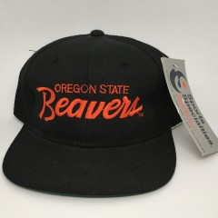 90's Oregon State Beavers Sports Specialties NCAA script snapback hat