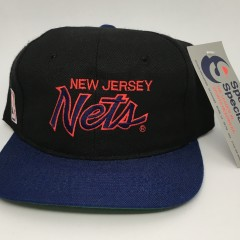 90's New Jersey Nets Sports Specialties Script snapback hat