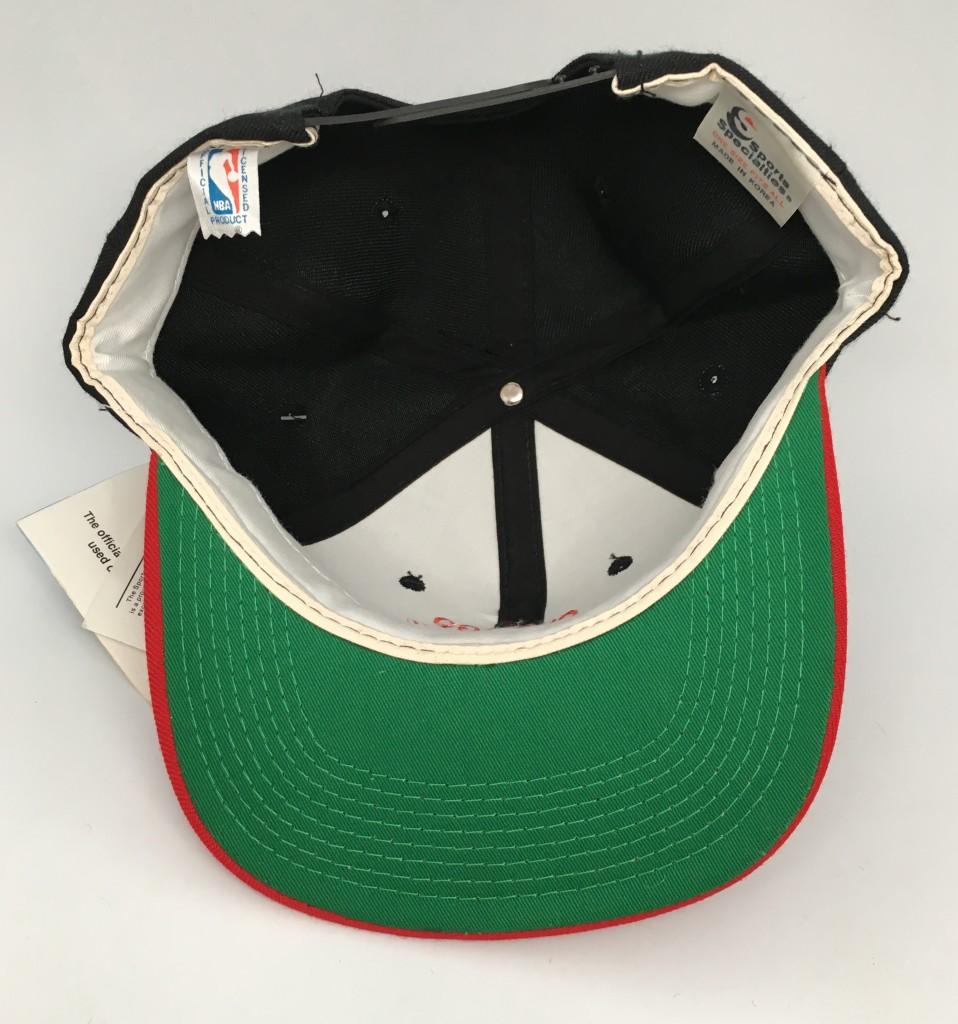 super popular 40fd1 be371 ... release date 90s chicago bulls sports specialties nba script snapback  hat deadstock 3047c df95f