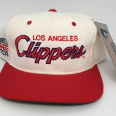 90's Los Angeles Clippers NBA sports specialties script snapback hat