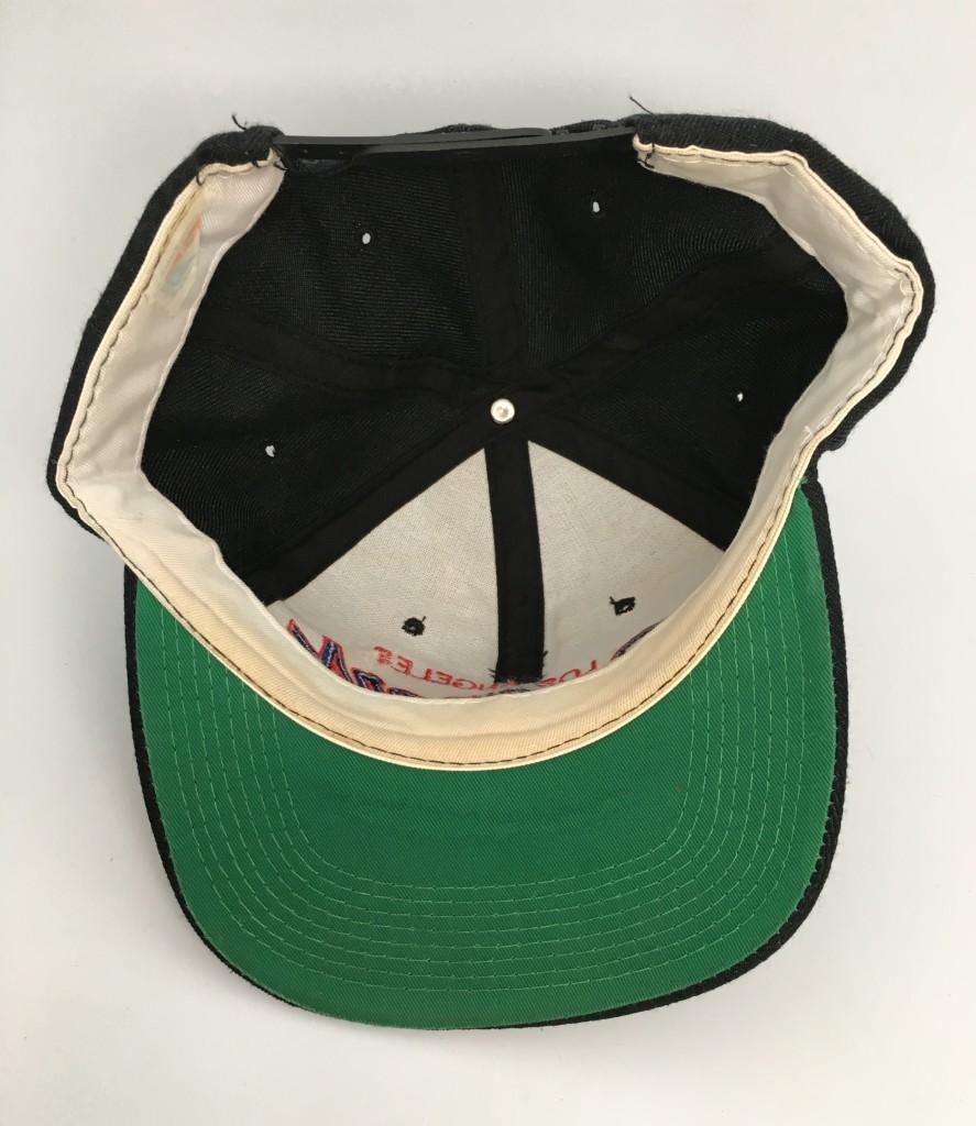 d86126c85 90's Los Angeles Clippers Sports Specialties Script Snapback Hat Black