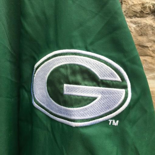 90's Green Bay Packers Starter Pro Line pullover windbreaker jacket  size XL