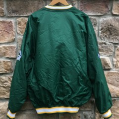 90's Green Bay Packers Starter Pro Line pullover windbreaker jacket  size XL