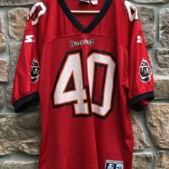 90's Mike Alstott Tampa Bay Buccaneers Starter NFL jersey size 48