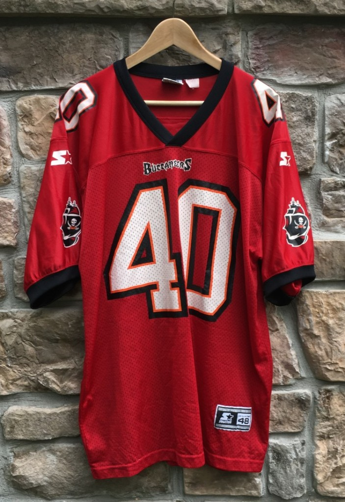 1998 Mike Alstott Tampa Bay Buccaneers Starter NFL Jersey Size Large