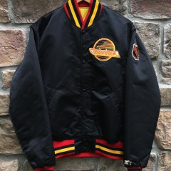 90's Vancouver Canucks Starter Satin NHL jacket size large