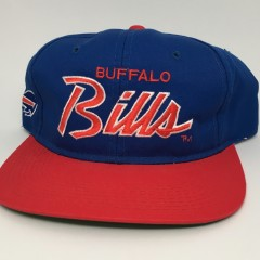 90's Buffalo Bills Sports Specialties Script NFL snapback hat