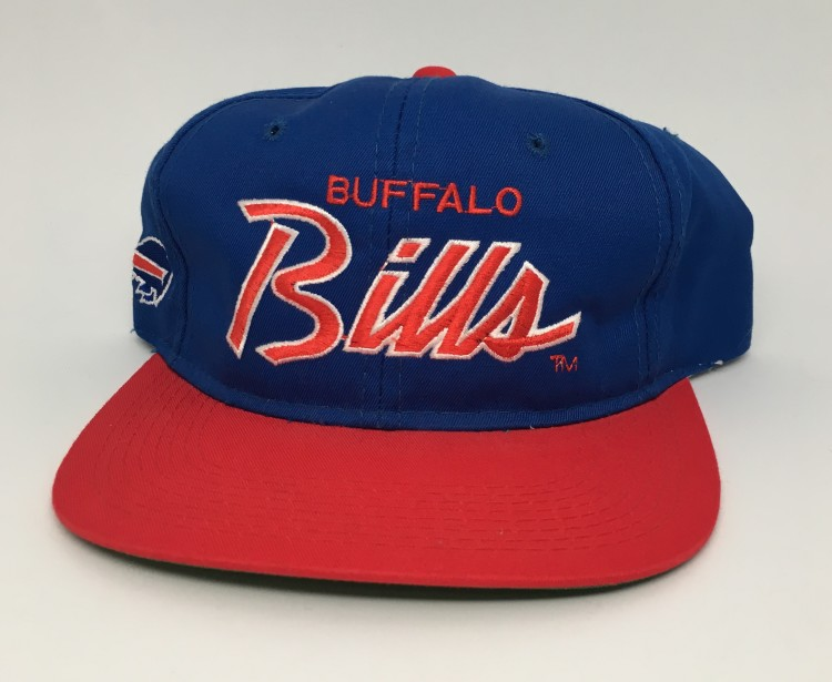 29d90d9c9cb08 90 s Buffalo Bills Sports Specialties Script NFL Snapback Hat