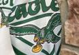 90's Philadelphia Eagles Chalkline Fanimation Jacket size medium original