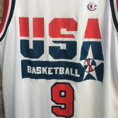 1992 Michael Jordan Team USA Dream Team Champion Olympic USA jersey size 48 XL