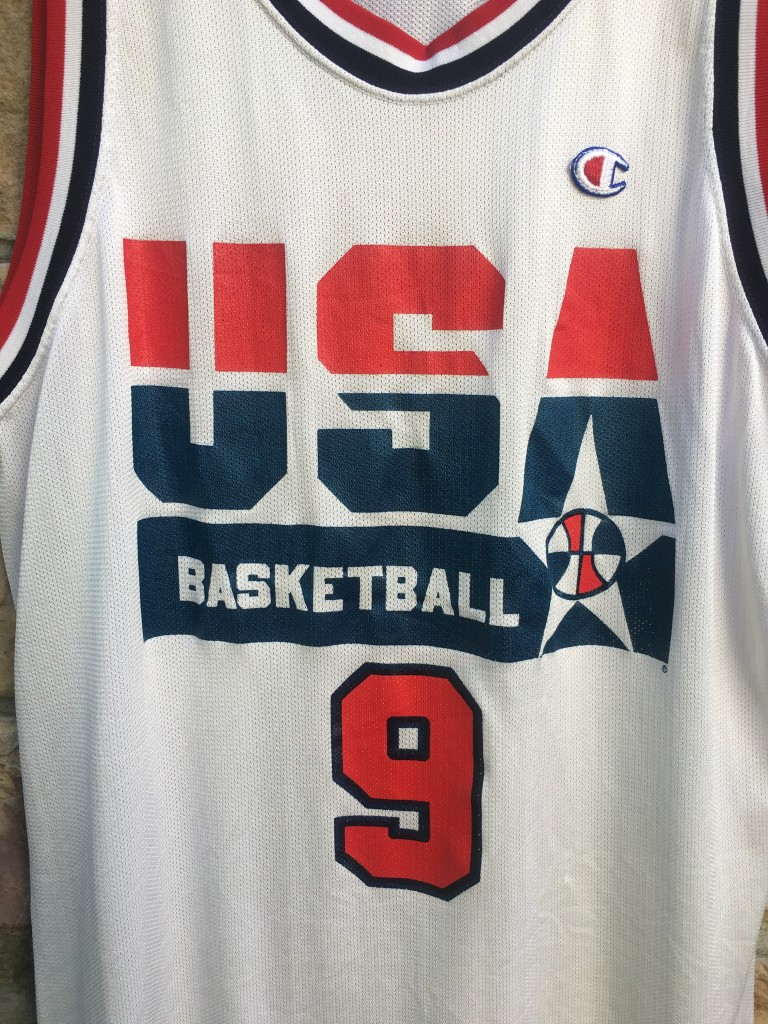 868bf484e4c 1992 Michael Jordan Team USA Dream Team Champion Olympic USA jersey size 48  XL