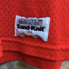 80's Sandknit authentic Chicago Bulls Michael Jordan NBA jersey authentic size 46