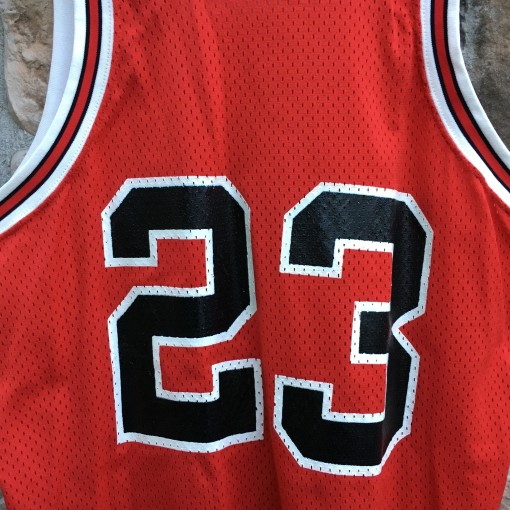 80's Sandknit authentic Chicago Bulls Michael Jordan NBA jersey authentic size 46