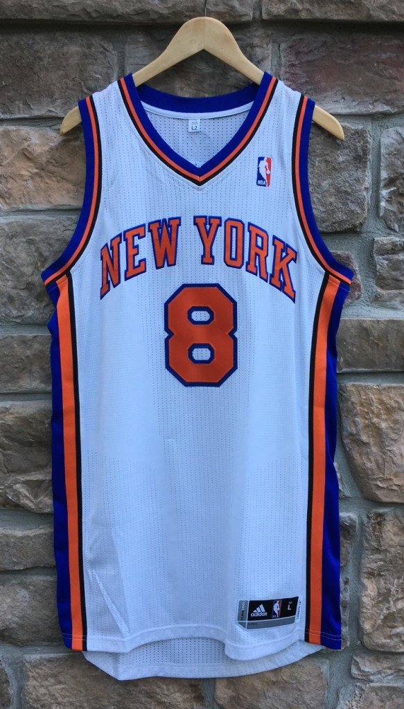 lowest price 98372 0fcc7 2012 Jr Smith New York Knicks Authentic Adidas NBA Jersey Size Large