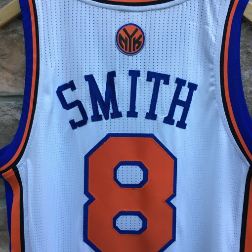 2012 JR Smith New York Knicks Authentic Adidas Revolution 30 NBA Jersey size Large +2 Length