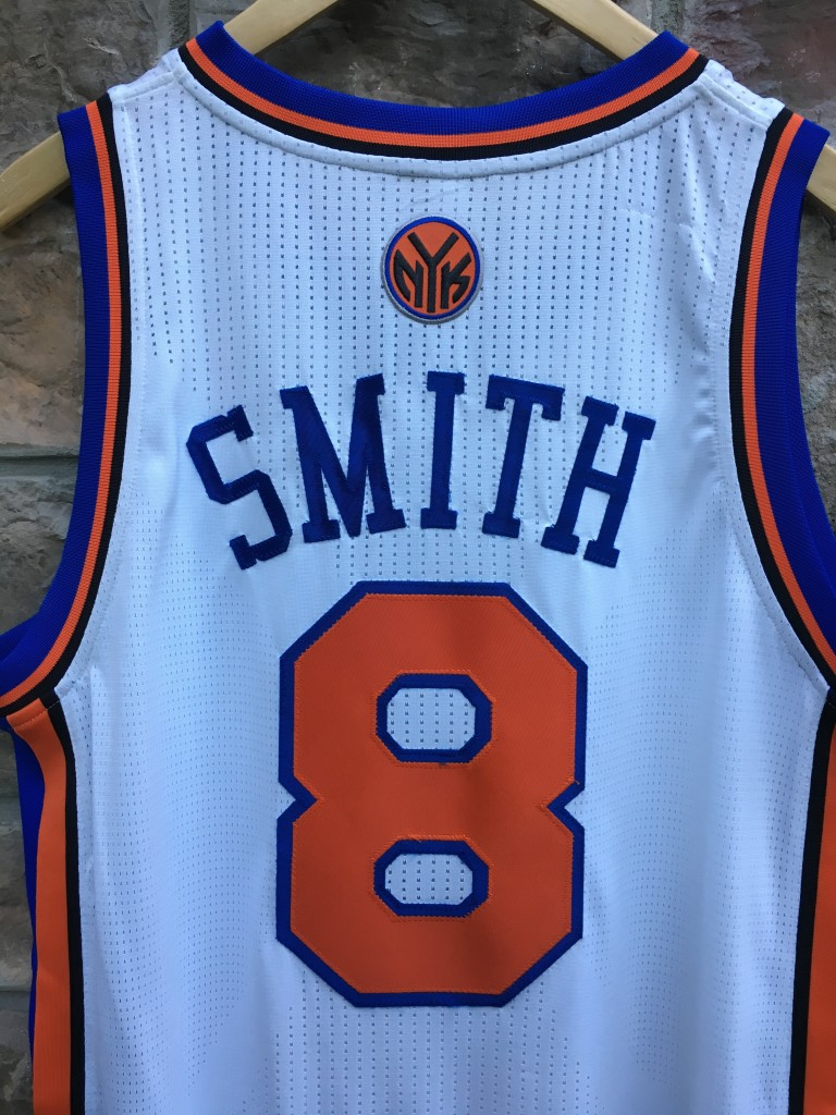 lowest price 8edad f5714 2012 Jr Smith New York Knicks Authentic Adidas NBA Jersey Size Large