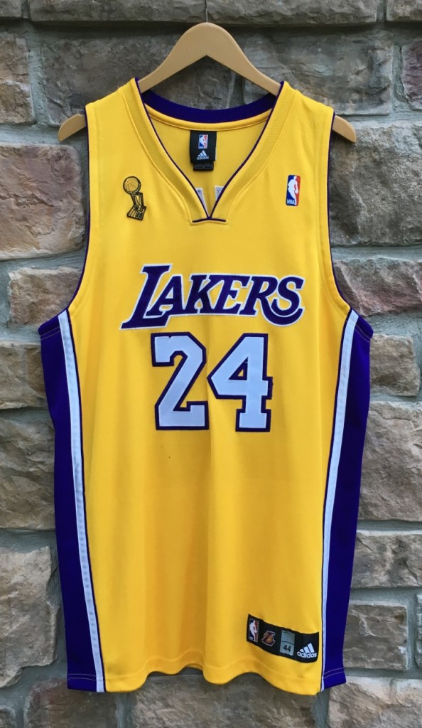 40dbebffe48 2009 Los Angeles Lakers Kobe Bryant Authentic LA Lakers Adidas NBA Jersey  size 44 Large