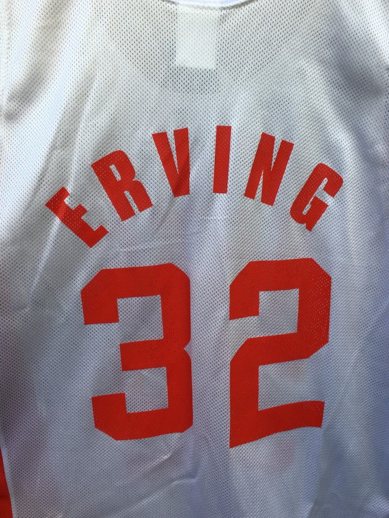 1997 NBA 50th Anniversary New Jersey Nets Julius Erving ABA Champion jersey  size 44 large deadstock 6fc61eb3c