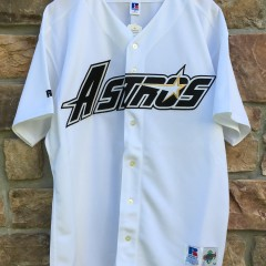 deadstock 1995 authentic Houston Astros Russell Diamond Collection MLB jersey size 52 XXL