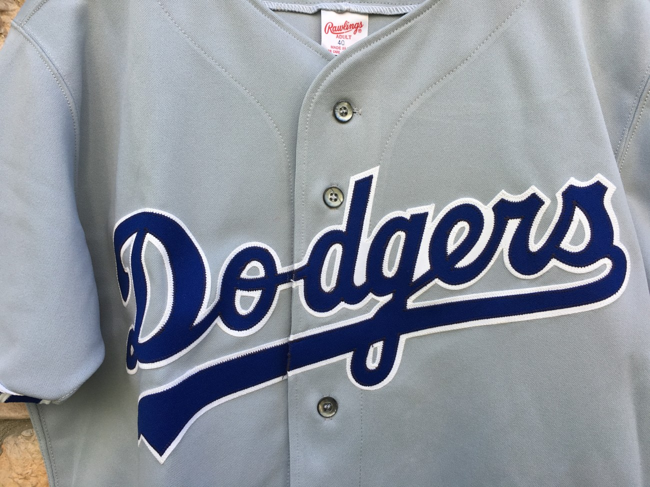 3bc581cc1 90 s Los Angeles Dodgers Authentic Rawlings Diamond Collection MLB Jersey  size 40 Medium